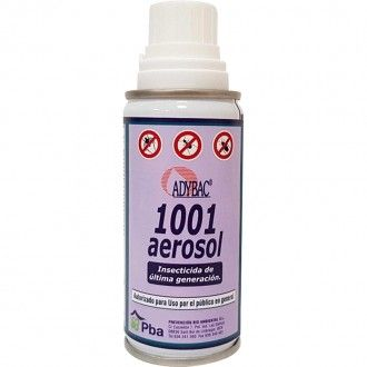ADYBAC 1001 Insecticida Descarga Total