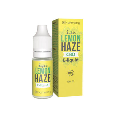 E-LIQUID SUPER LEMON HAZE PURE (SIN CBD) 10 ML HARMONY